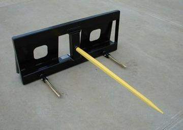 New MDS Skid Steer Single Tine Bale Spear