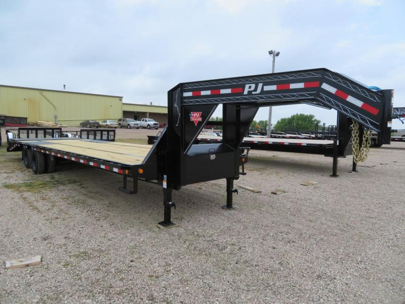 2021 PJ Trailers 32 Low Profile GN Power Tail Trailer