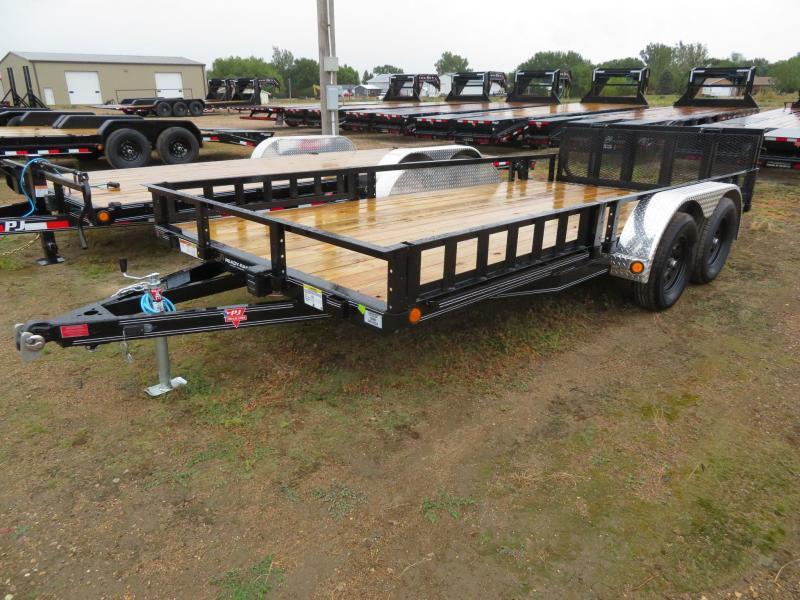 2021 PJ Trailers 16 Tandem Axle ATV Utility Trailer