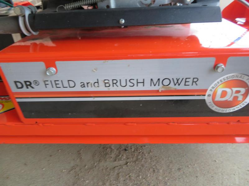 """DR Power Pulltype 44"""" Field and Brush Lawn Mower"""