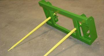 2020 MDS Bale Spear for JD 740 Loader