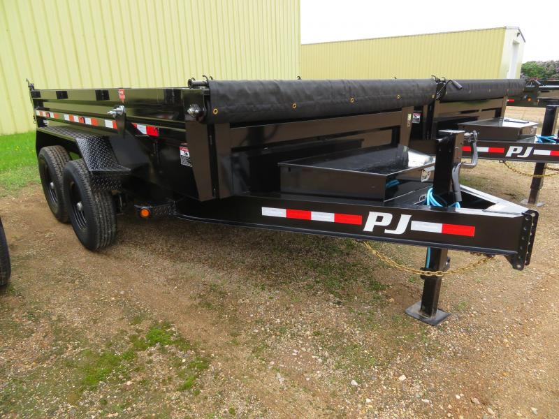 2021 PJ Trailers 12 Low Profile Dump Trailer
