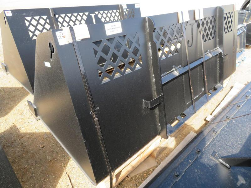 """New Jenkins 96"""" Skid Steer High Capacity Snow and Material Bucket"""