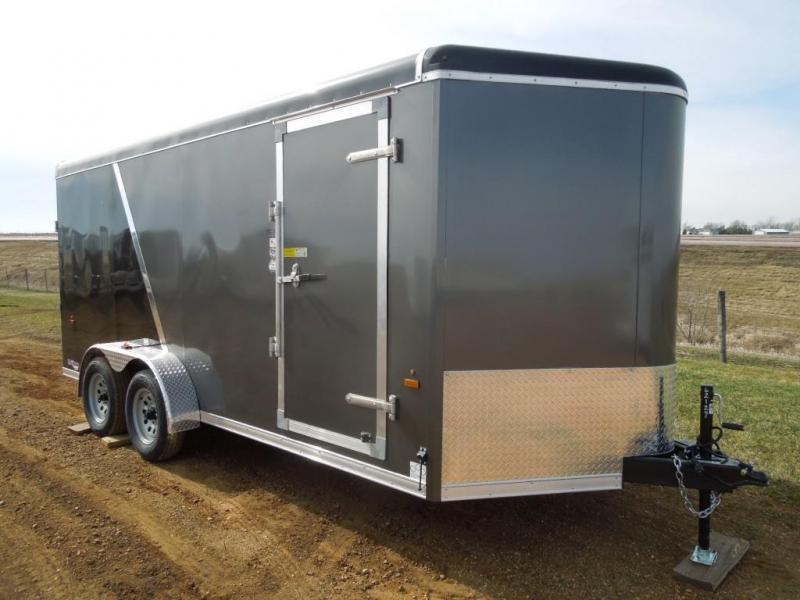 2020 US Cargo 7 x 16 Enclosed Cargo Trailer