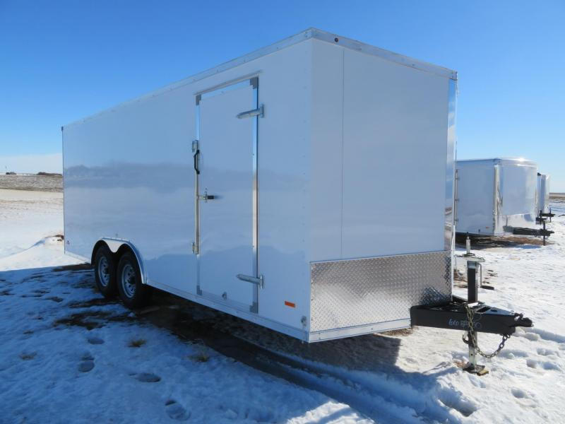 2021 RC Trailers 8.5 x 20 Enclosed Cargo Trailer