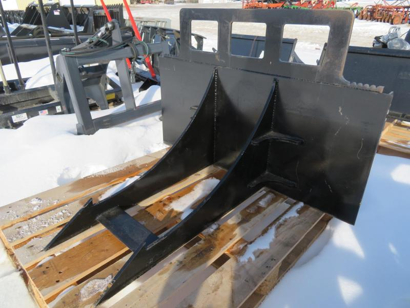 Economy Rock Badger Skid Steer Attachment