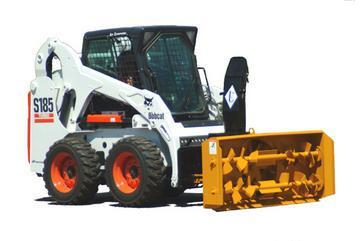 "New Lorenz 8410 84"" Skid Steer Snow blower"
