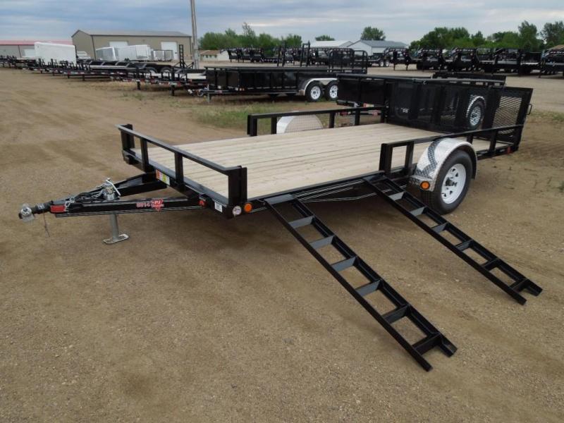 2021 PJ Trailers 14 ATV Utility Trailer