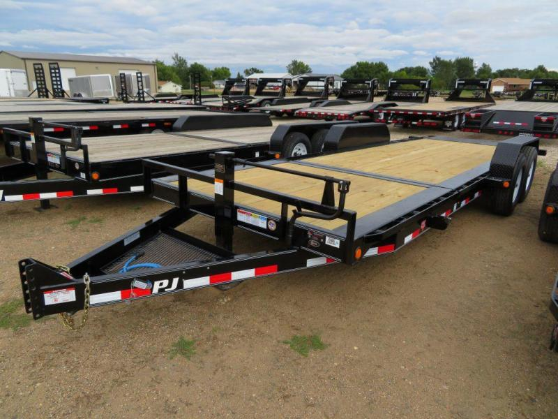 2020 PJ Trailers 22 Tiltbed Equipment Trailer