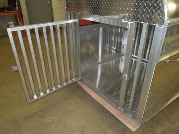 New 65 L x 48 W x 43.5 H Livestock Box