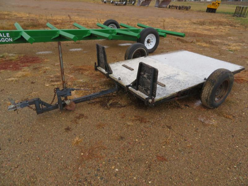 1990 Homemade 8 Tiltbed Utility Trailer