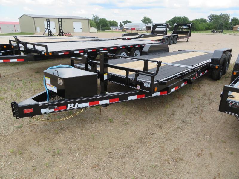 2021 PJ Trailers 22 Tiltbed Equipment Trailer