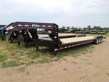 2019 PJ Trailers 38 GN Equipment Trailer