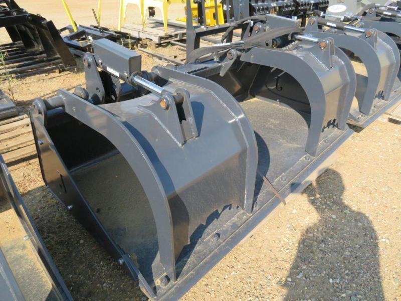 Jenkins 84 Skid Steer Grapple Bucket