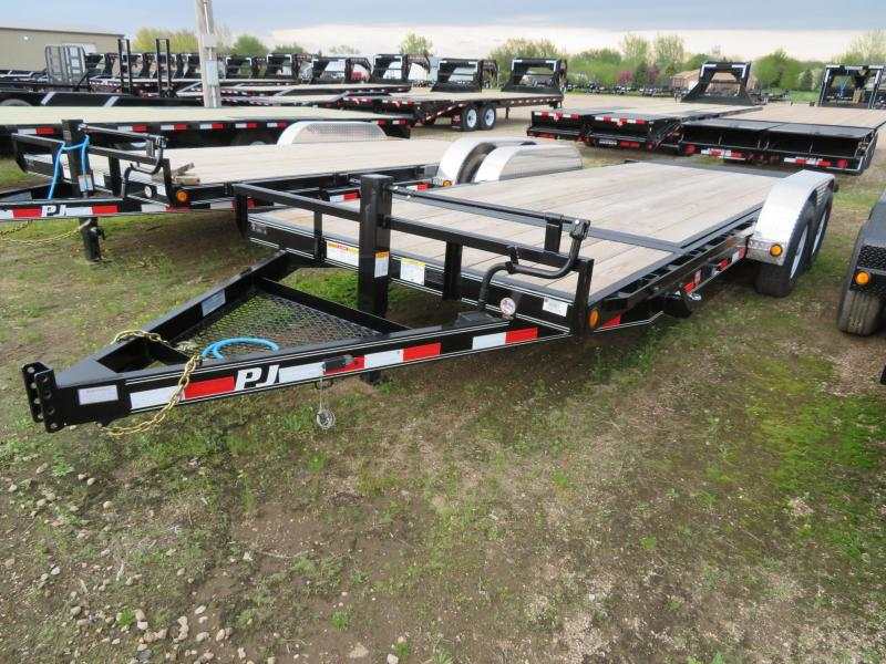 2019 PJ Trailers 20 Tiltbed Equipment Trailer