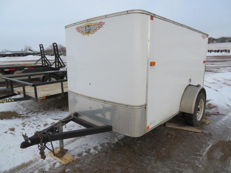 2008 H and H Trailer 5 x 8 Enclosed Cargo Trailer