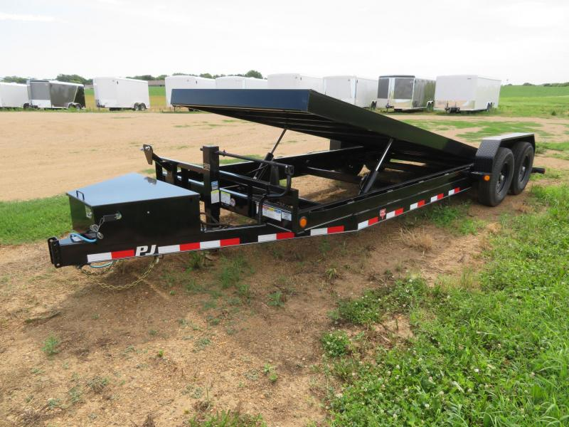 2021 PJ Trailers 22 Full Tilt Equipment Trailer