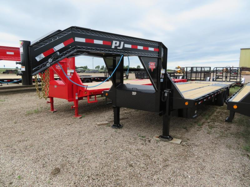 2021 PJ Trailers 32 Low Profile Hydraulic Tail GN