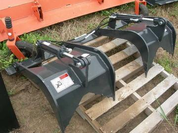 """New Stout 60"""" Skid Steer Grapple"""