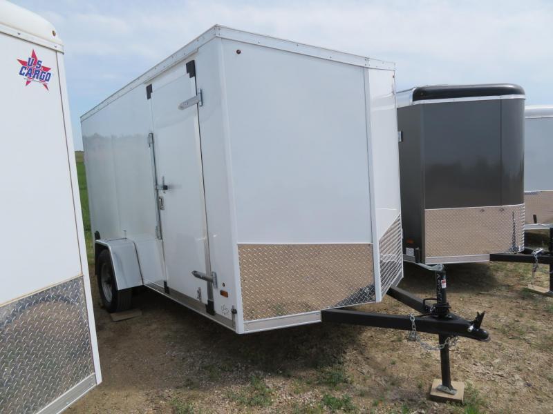 2020 US Cargo 6 x 12 Enclosed Cargo Trailer