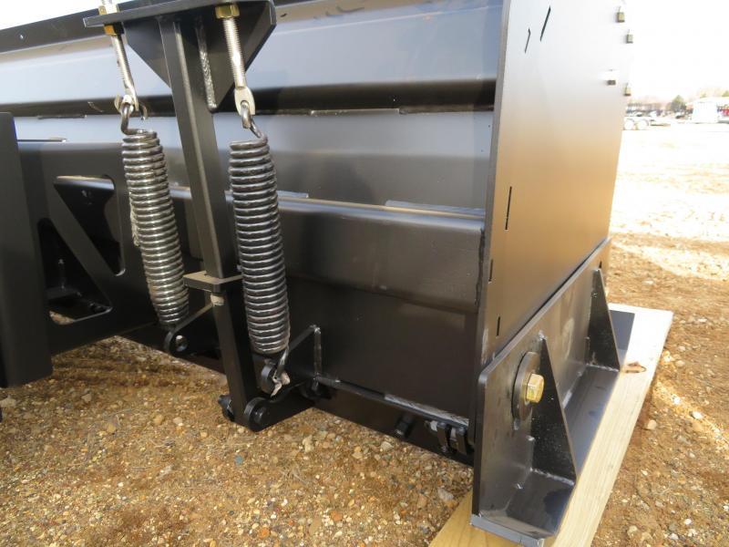Jenkins 8' Skid Steer Deluxe Snow Pusher