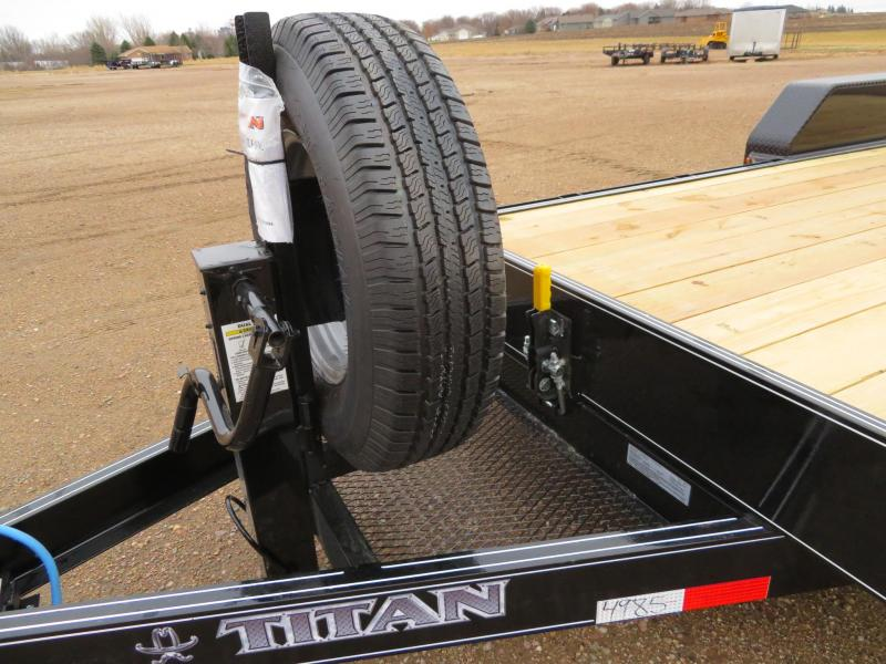 2021 Titan 20 Tilt Equipment Trailer