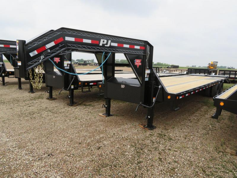 2021 PJ Trailers 32 Low Profile GN Trailer