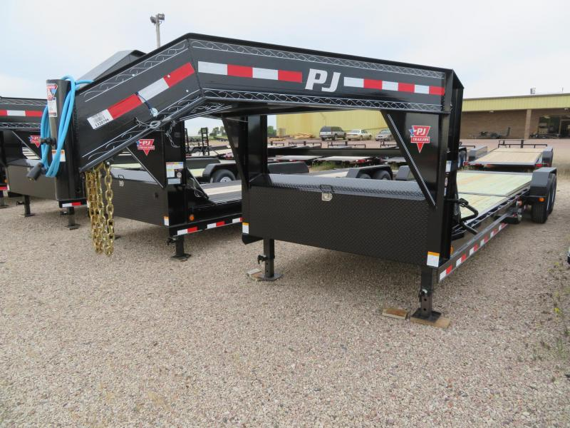 2020 PJ Trailers 26 Tiltbed GN Equipment Trailer