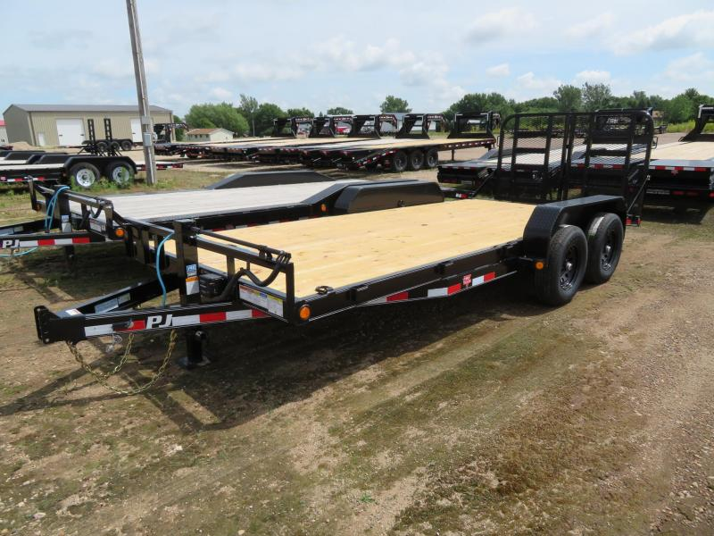 2021 PJ Trailers 18 Equipment Trailer
