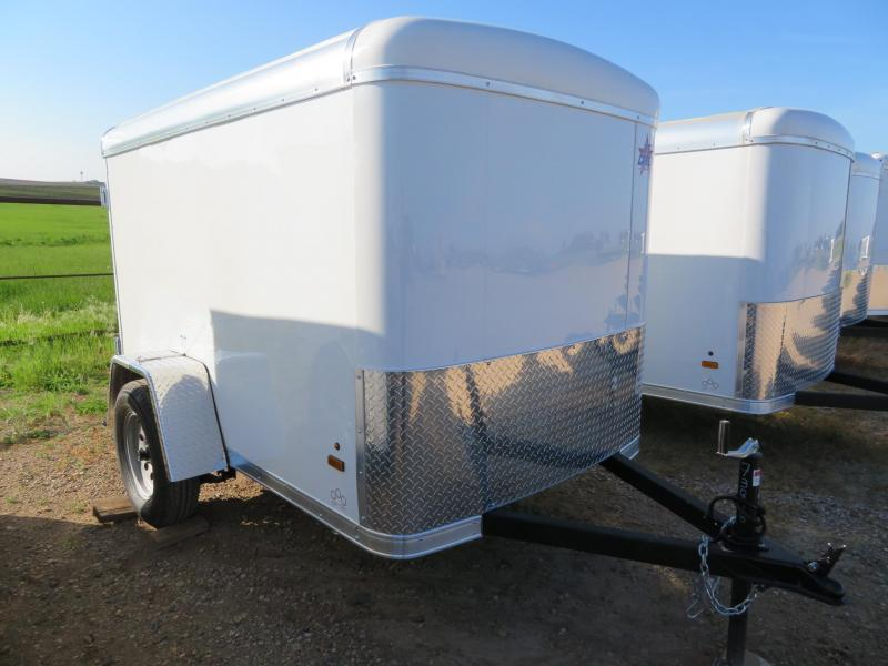 2021 US Cargo 5 x 8 Enclosed Cargo Trailer