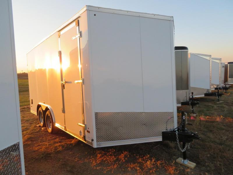 2021 US Cargo 8.5 x 16 Enclosed Cargo UTV Trailer