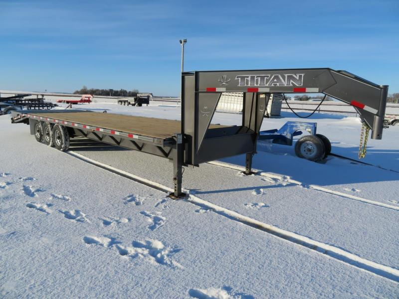 2021 Titan Trailers 30 Equipment Trailer