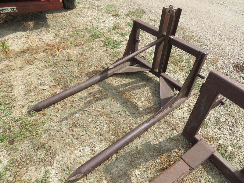 Used 3 Point Bale Fork