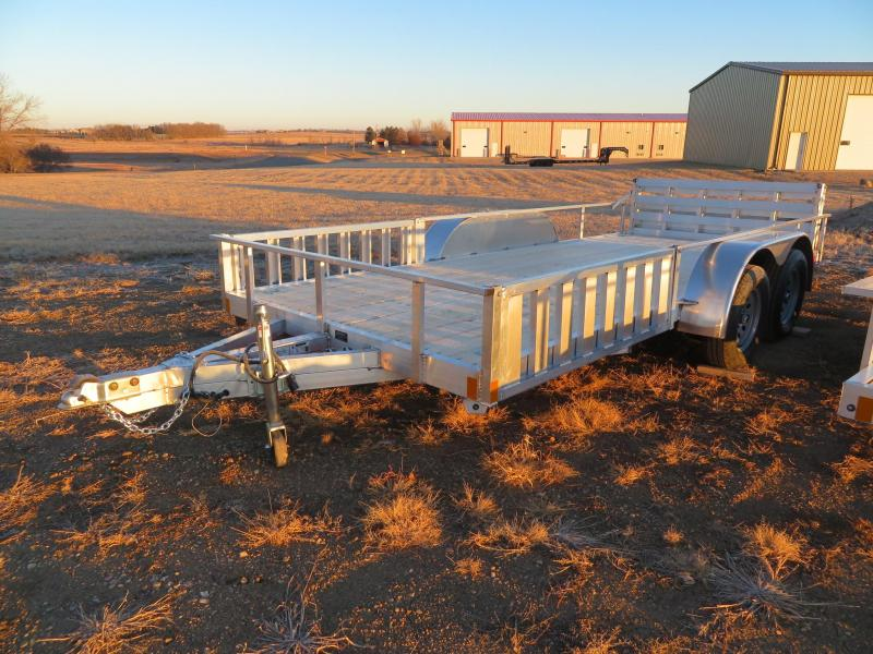 New High Country 78 x 16 Aluminum Utility Trailer