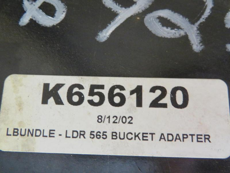 Koyker 565 Loader Quick Attach Adapter - K656120