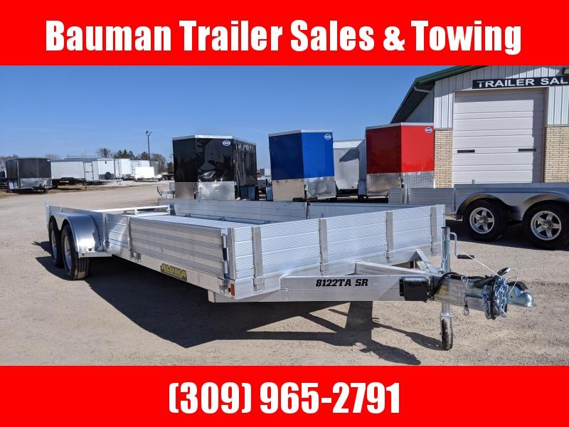 2021 Aluma 8122TA SR Utility Trailer