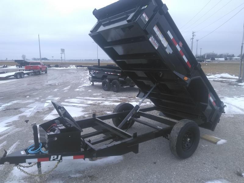 """2021 PJ Trailers 60""""X10Ft. Utility Dump (D5) Dump Trailer"""