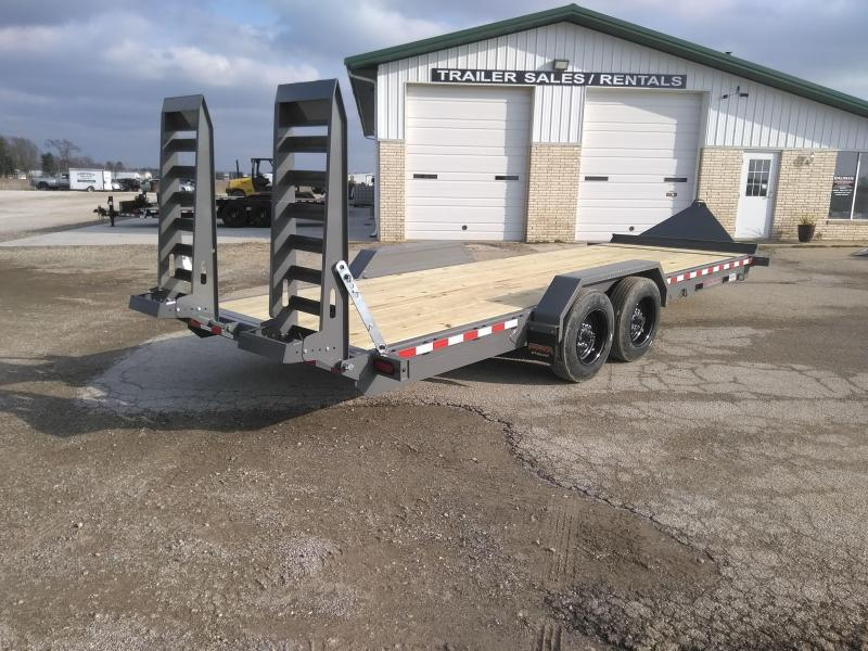 2021 Midsota ST-22 HEAVY DUTY Flatbed Trailer