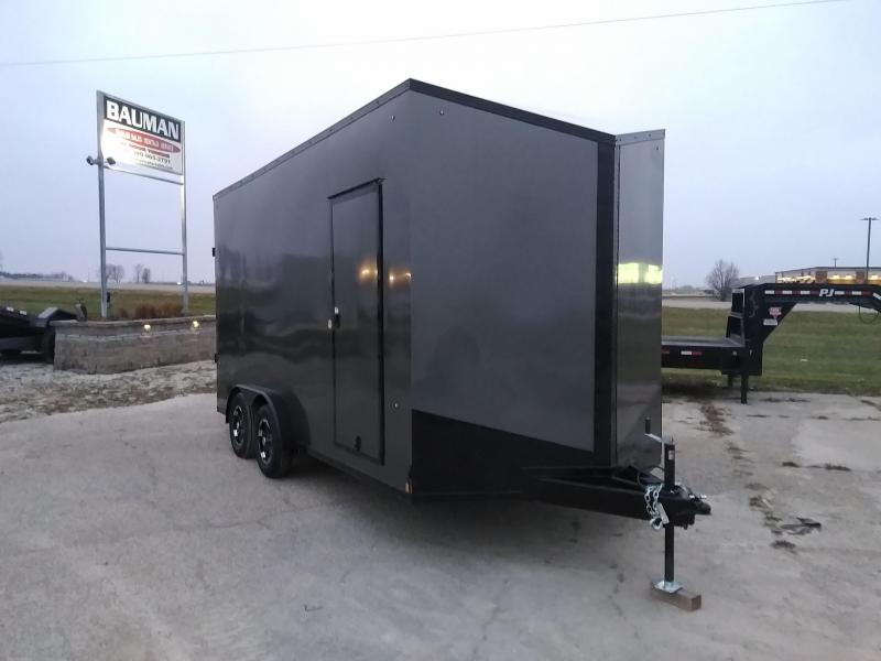 2021 Formula Trailers EXTRA EXTRA TALL Triumph 7.5x16TE2 UTV TRAILER Enclosed Cargo Trailer