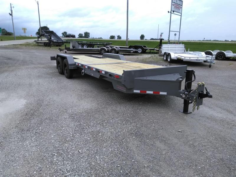 2021 Midsota TBHD-24 HD 22K Flatbed Trailer