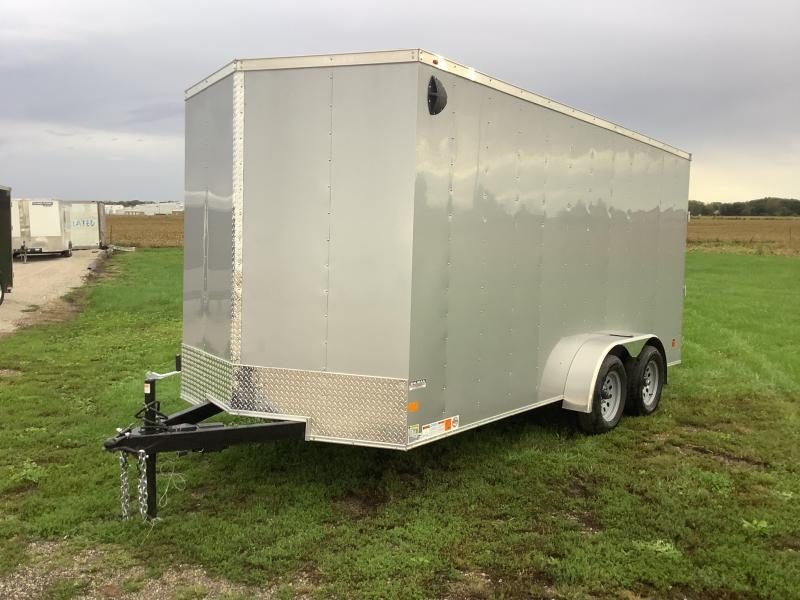 2022 Wells Cargo 7x16 FAST TRACK 7ft interior height Enclosed Cargo Trailer