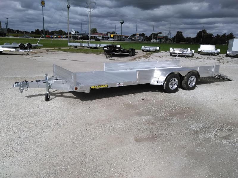 2021 Aluma 8120TASR Utility Trailer