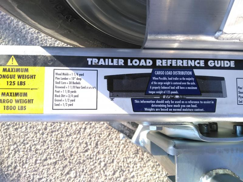 2022 Floe XRT857 Utility Trailer