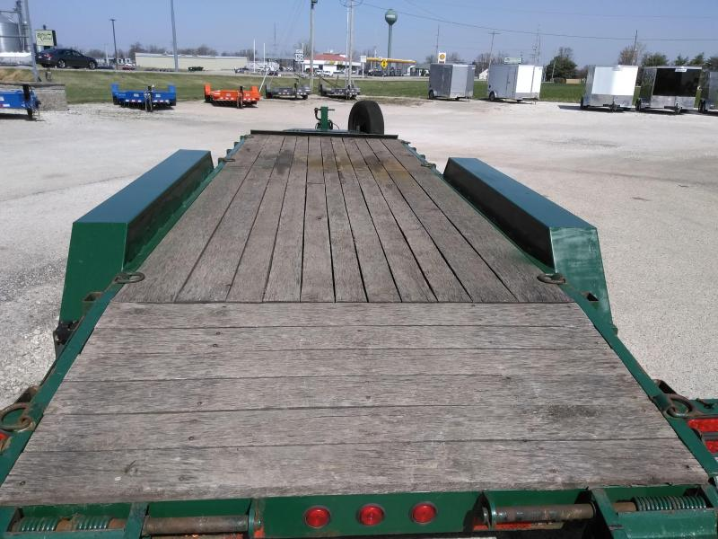 2015 Felling Trailers FT 21FT TRIPLE AXLE Flatbed Trailer