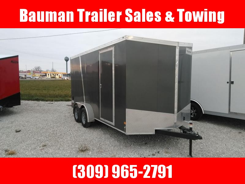 2021 Extra Tall Haulmark TSV716T2 Enclosed Cargo Trailer