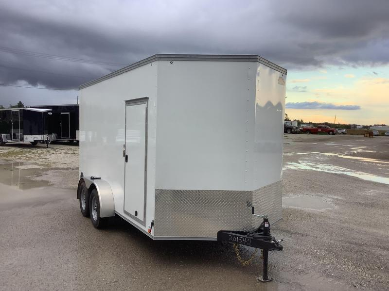 """2022 United Trailers UNITED TRAILERS XLV 7 X 14 FT.12"""" EXTRA HEIGHT EN Enclosed Cargo Trailer"""