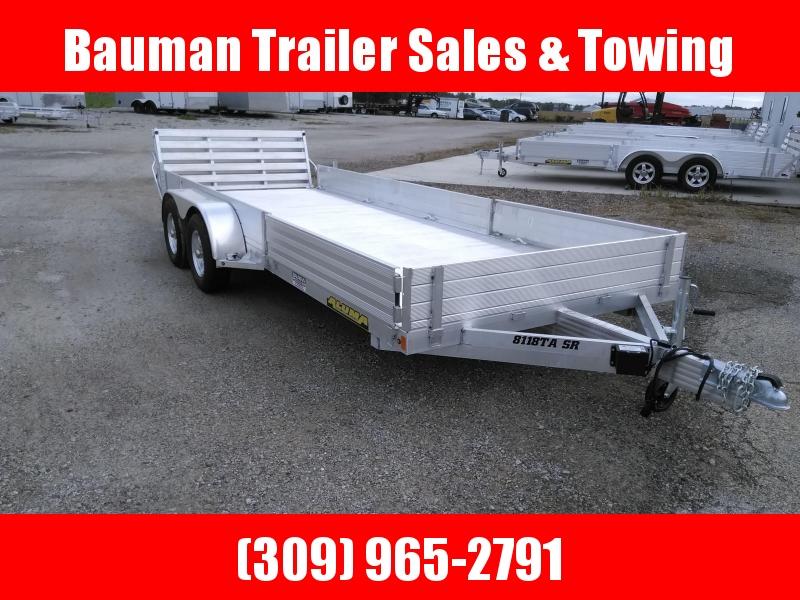 2021 Aluma 8118TASR Utility Trailer