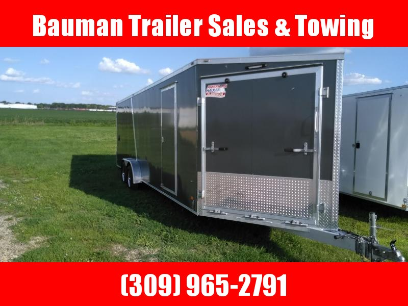 2019 American Hauler 7X29 Snow mobile Trailer Snowmobile Trailer