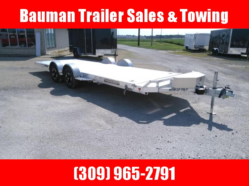 2021 Aluma 8220LP Car / Racing Trailer