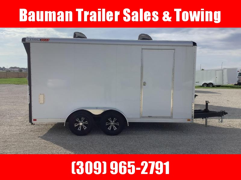2022 Wells Cargo WHD716T3 7FT 6IN INTERIOR Enclosed Cargo Trailer